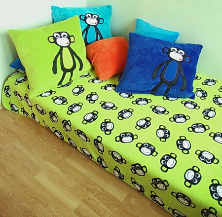 prehoz na posteľ Monkey Green