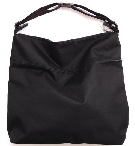 taška ku kočíku Pinkie Black
