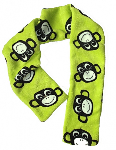 šál Monkey Green