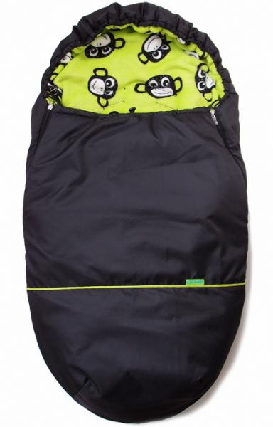 fusak Black Green Monkey