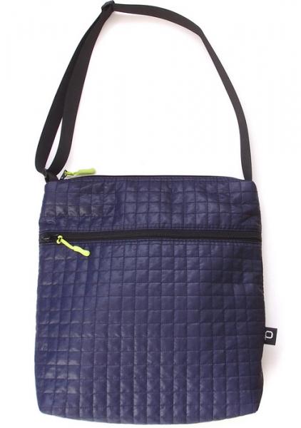 taška pre deti Little Square Dark Blue