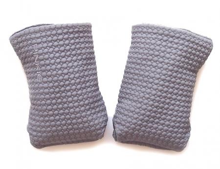 rukavice na kočík Small Grey Comb