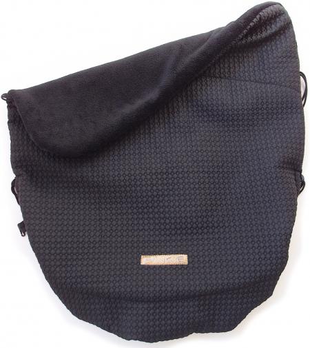 zateplená sťahovacia deka Small Black Comb