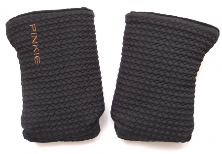 rukavice na kočík Small Black Comb