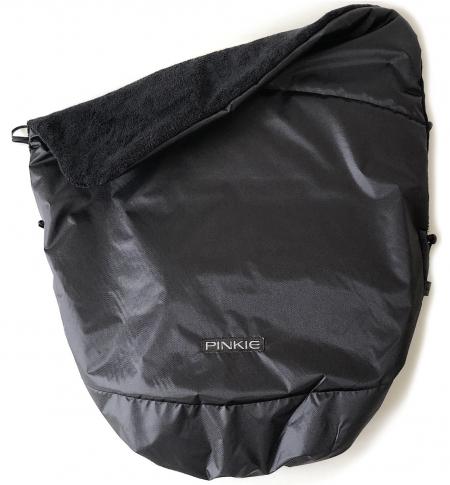 zateplená sťahovacia deka Pinkie Plain Black