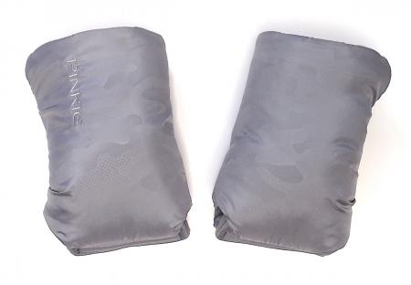 rukavice na kočík Grey Camo