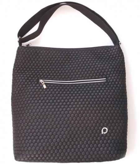 veľká taška na kočík Black Comb