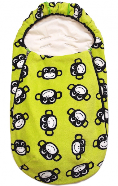 fusak Monkey Green - ľahký