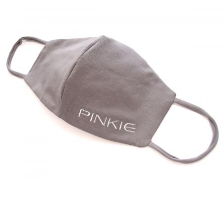 rúška Pinkie BIO šedá