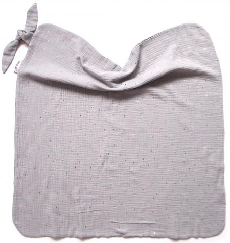 letní deka Pinkie Muslin Grey