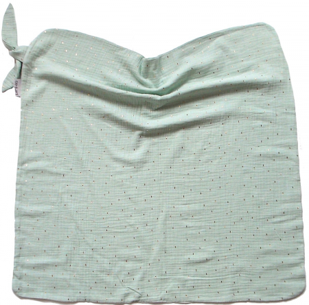 letná deka Pinkie Muslin Mint