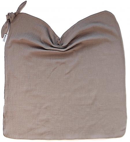 letná deka Pinkie Muslin Taupe