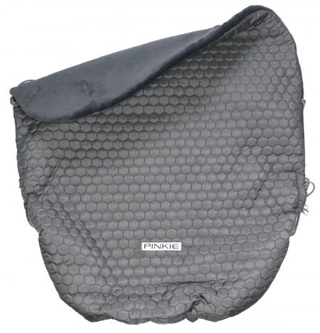 zateplená sťahovacia deka Big Comb Grey