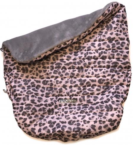 zateplená sťahovacia deka Animal Pink