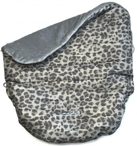 zateplená sťahovacia deka Animal Grey