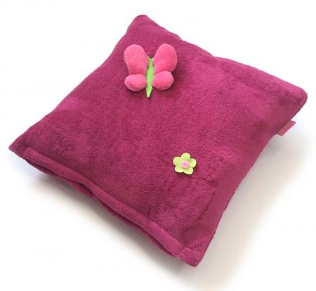 vankúšik Dark Pink Meadow