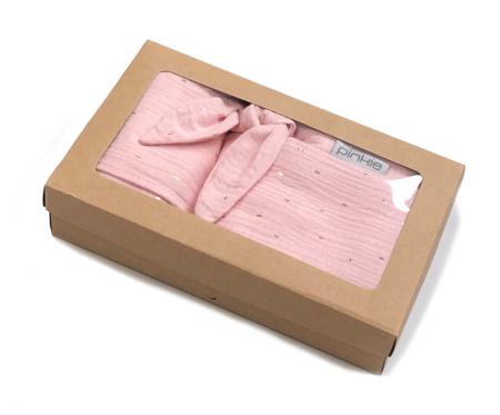 darčekový set Muslin Light Pink