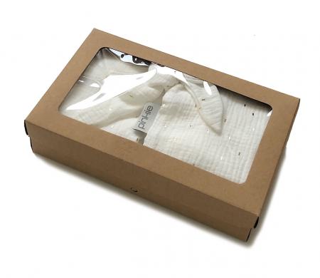 darčekový set Muslin White