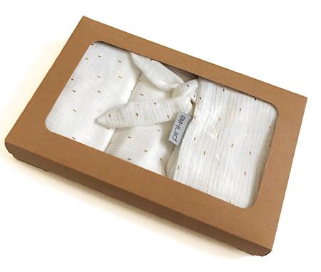 darčekový set Muslin White veľký