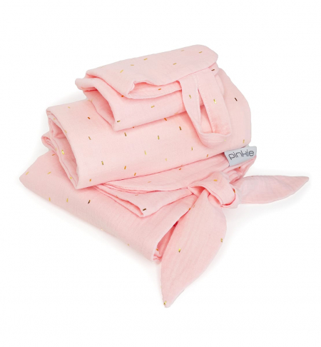 set Muslin Light Pink