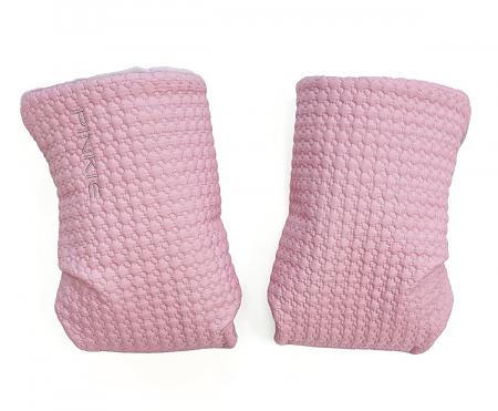 rukavice na kočík Small Pink Comb