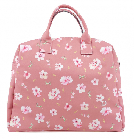 kabela na kočík Softshell Pink Rose M