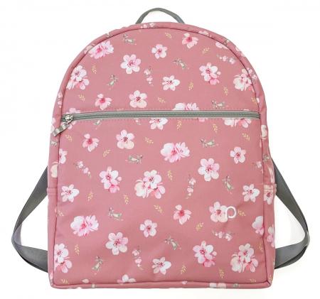 batoh Bugee Softshell Pink Rose