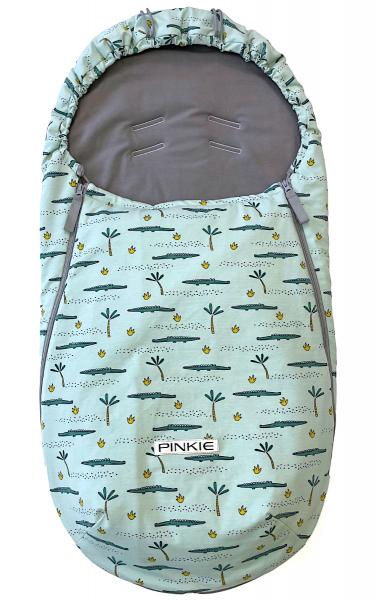 fusak Pinkie Crocodile BIO-ľahký