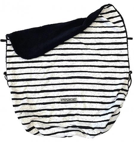 deka so sťahováním Pinkie Stripe White