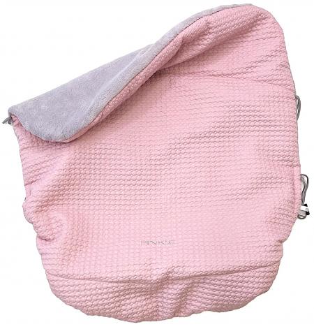 zateplená sťahovacia deka Small Pink Comb