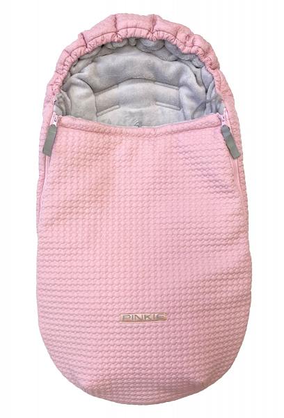 zimný fusak Small Pink Comb 0-12