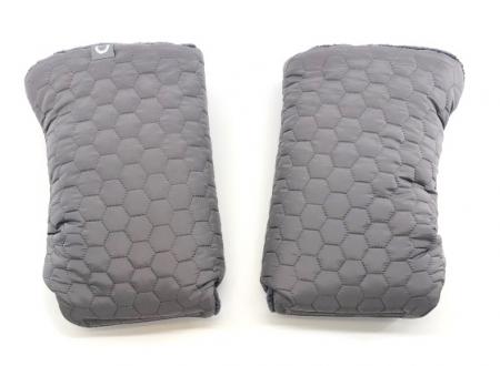 rukavice na kočík Big Comb Grey