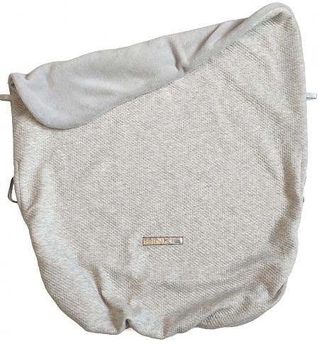 deka so sťahovaním Grey Quilt
