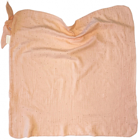 letná deka Pinkie Muslin Apricot