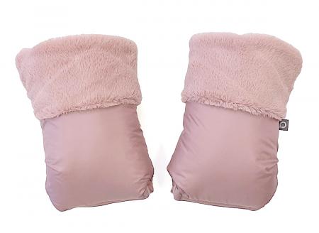 rukavice na kočík Fur Pink
