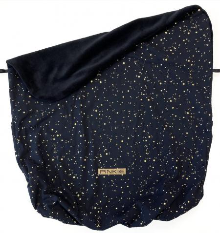 deka so sťahováním Shine Gold Black