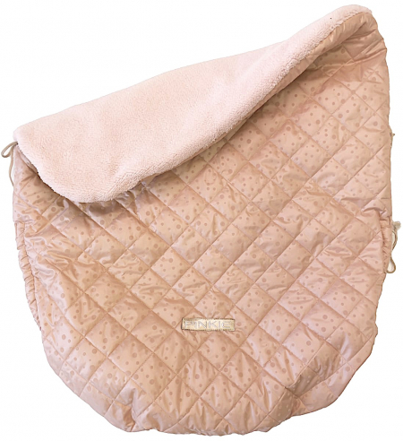zateplená sťahovacia deka Soft Pink Dots