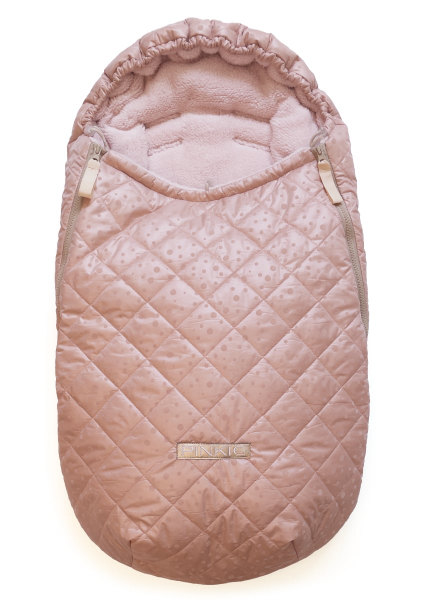 zimný fusak Soft Pink Dots 0-12 mes.