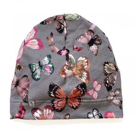 čiapočka Butterfly Grey BIO