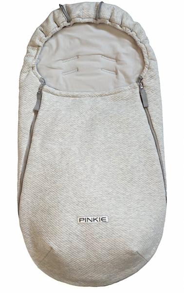 fusak Pinkie Grey Quilt-ľahký