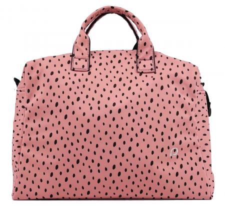 kabela na kočík Softshell Dots Pink M