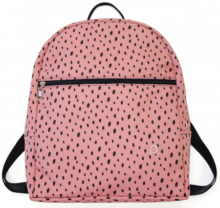 batoh Bugee Softshell Dots Pink