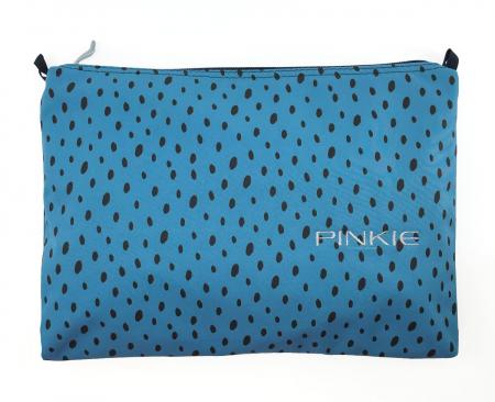 univerzálna taštička Softshell Dots Blue