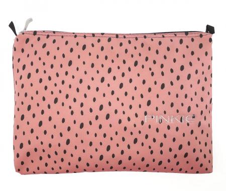 univerzálna taštička Softshell Dots Pink