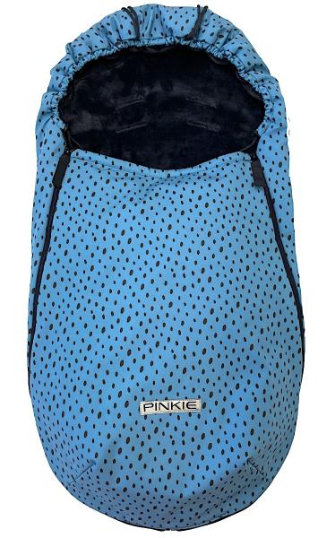 fusak Pinkie Softshell Dots Blue-ľahký