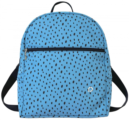 batoh Bugee Softshell Dots Blue