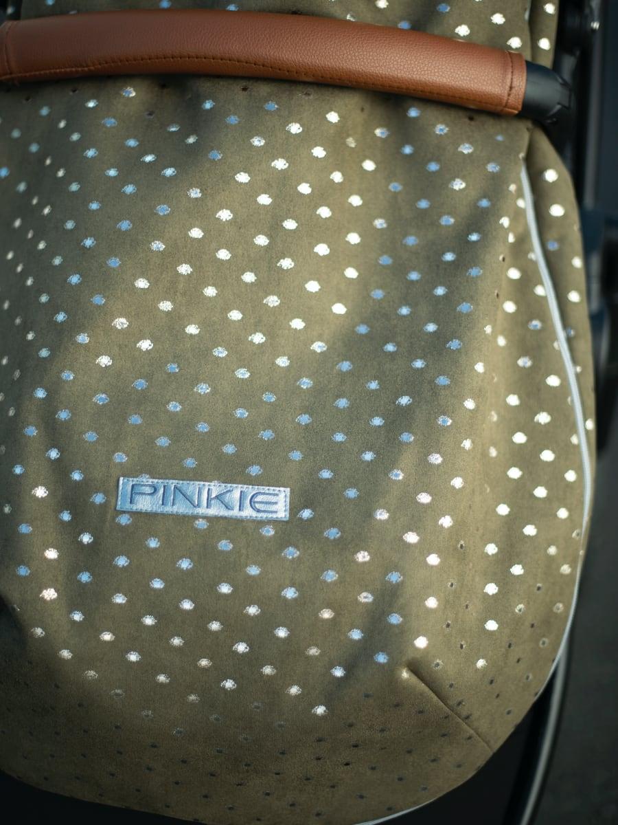 kliknutít zobrazíte maximální velikost obrázku fusak Pinkie Suede Green-ľahký