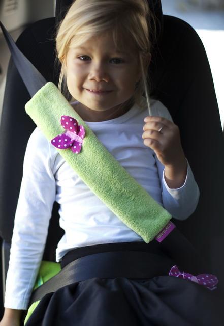 kliknutít zobrazíte maximální velikost obrázku ochrana na pás do auta Diamond Light Pink